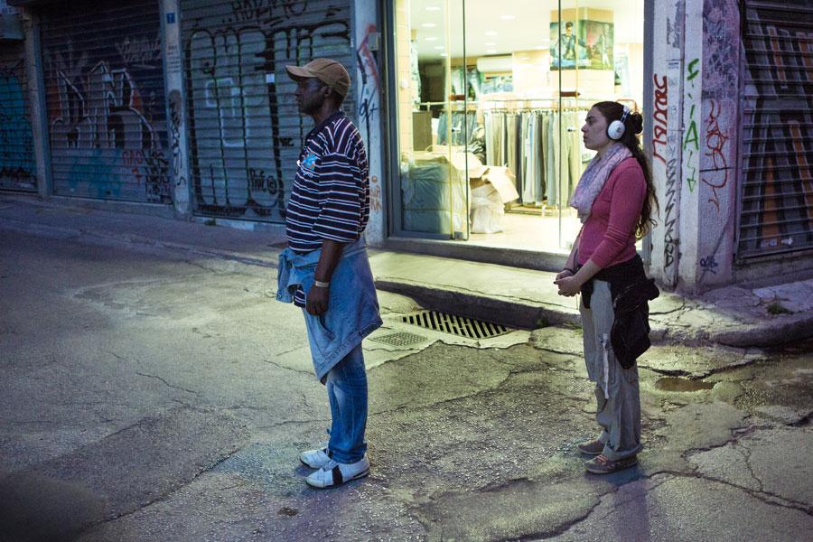 Niemandsland in Athene (2014)